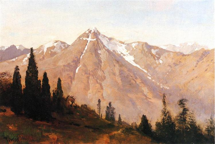 Mountain of the Holy Cross - Thomas Hill