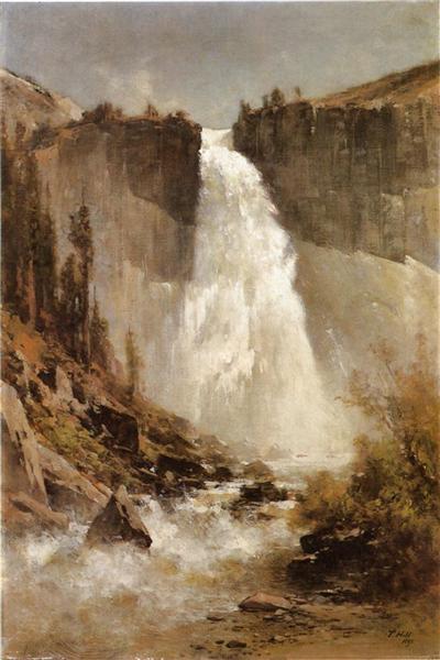 The Falls of Yosemite, 1893 - Thomas Hill