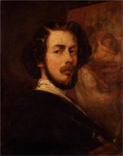 Self Portrait, 1848 - Thomas Jones Barker