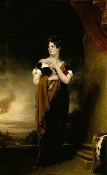 Henrietta Maria Hill, Marchioness of Ailesbury - Томас Лоуренс
