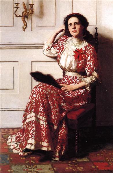 Portrait of Rebecca H. Whelan, 1910 - Thomas Pollock Anshutz
