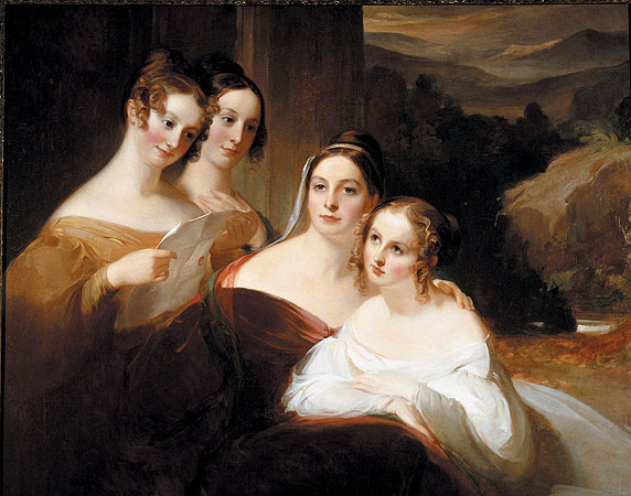 The Walsh Sisters - Thomas Sully