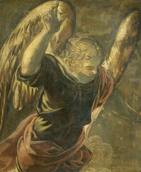 Annunciation the Angel, 1528 - 1594 - Tintoretto