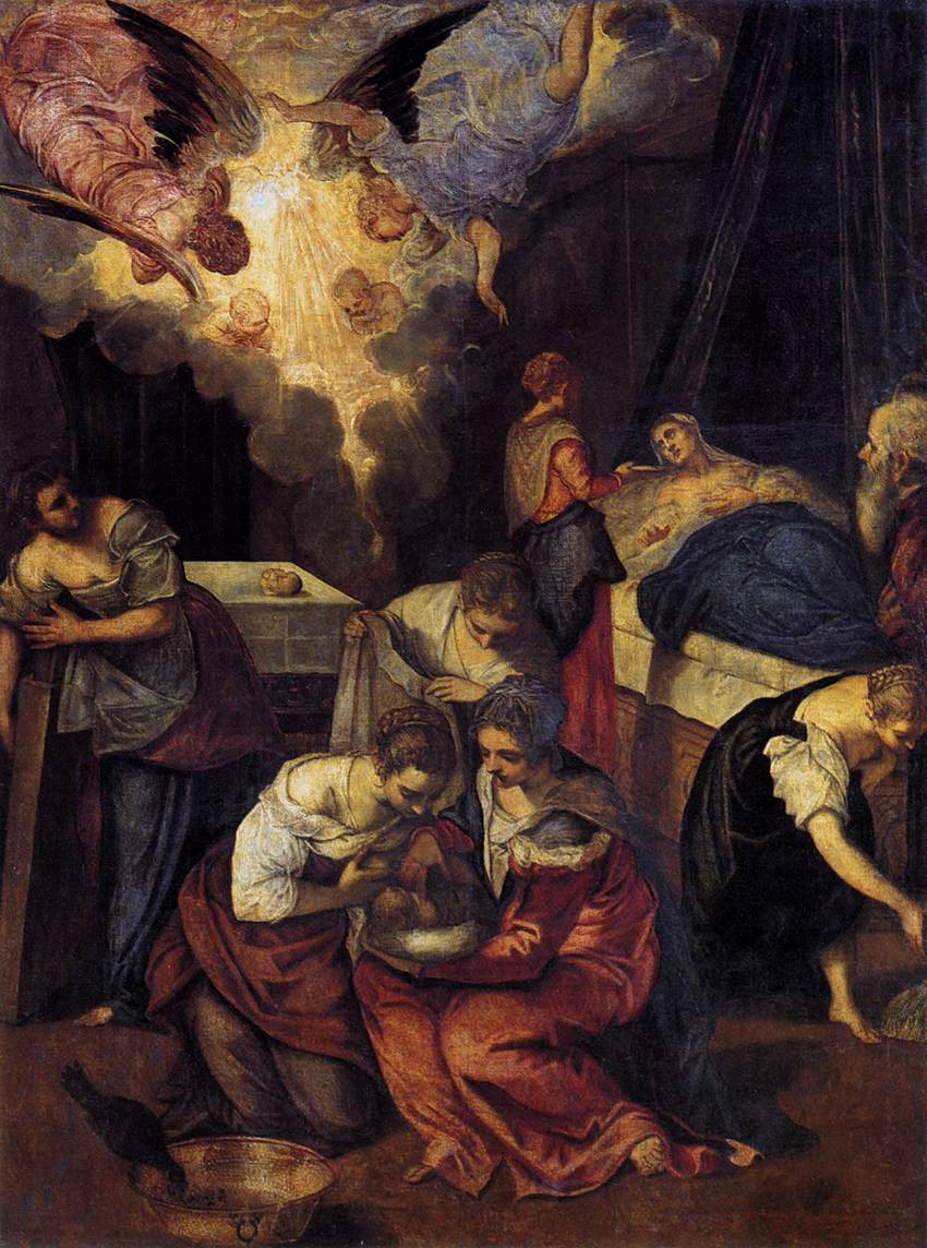 Birth of St John the Baptist, 1563