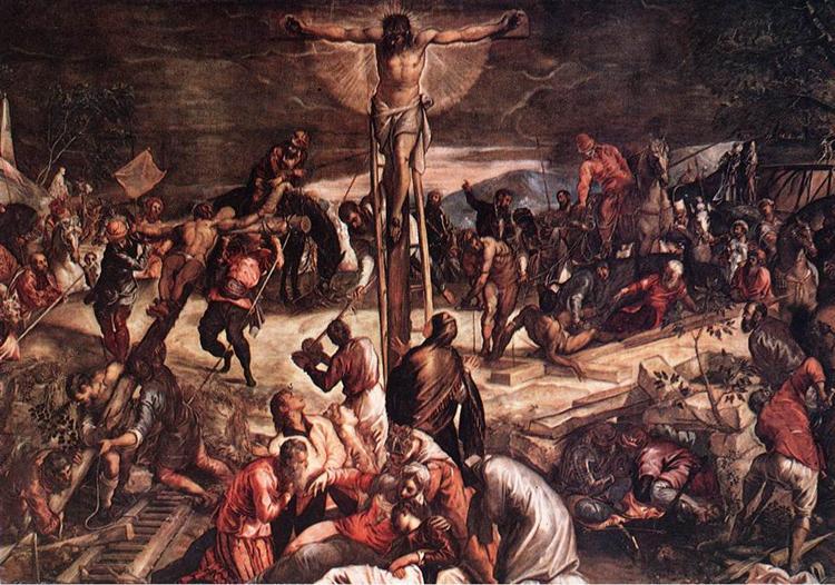 Crucifixion, 1565 - Tintoretto