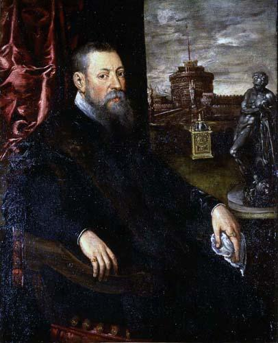 Portrait of a Collector, 1560 - 1565 - Tintoretto