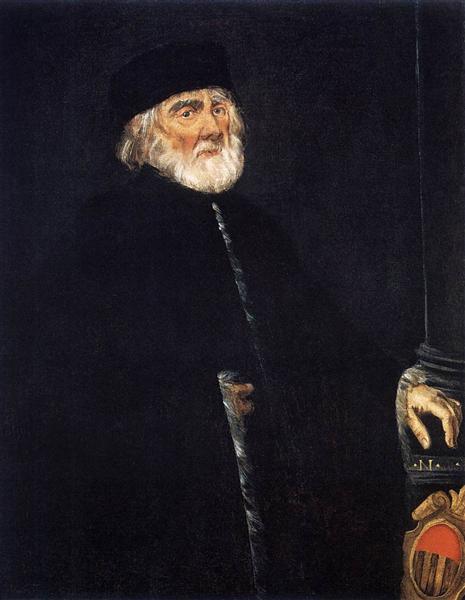 Portrait of Procurator Nicolò Priuli, c.1545 - Tintoretto