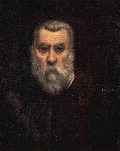 Self-portrait, 1588 - Tintoretto