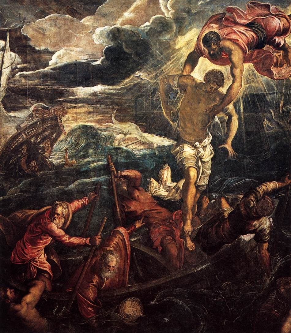St Mark Rescuing a Saracen from Shipwreck, 1562-1566