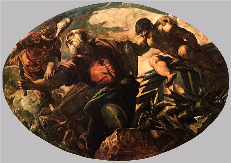 The Sacrifice of Isaac, 1577 - 1578 - Tintoretto