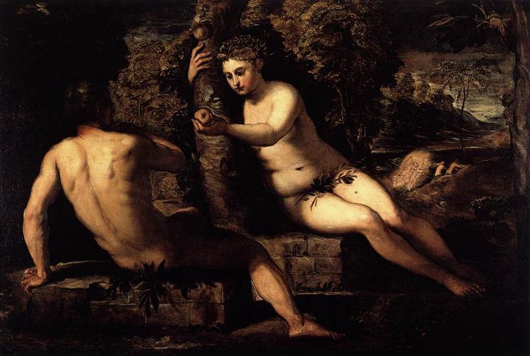 The Temptation of Adam, 1551 - 1552 - Tintoretto
