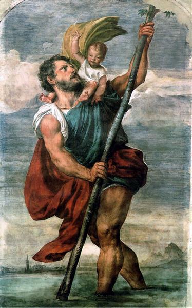 Saint Christophe - le Titien