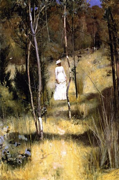 A Summer Morning Tiff - Tom Roberts
