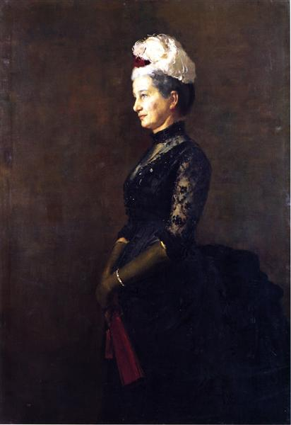 Madame Pfund, 1887 - Tom Roberts