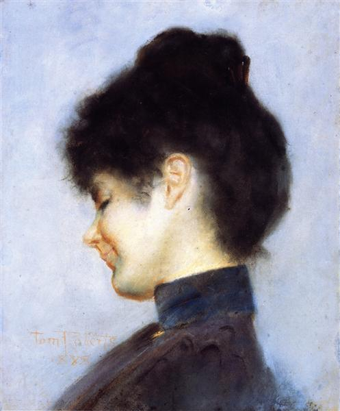 Miss Florence Greaves, 1898 - Tom Roberts