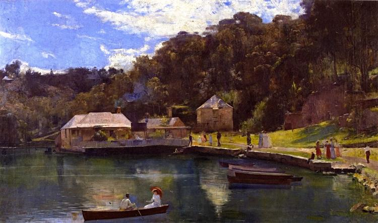 Mosman's Bay, 1894 - Tom Roberts