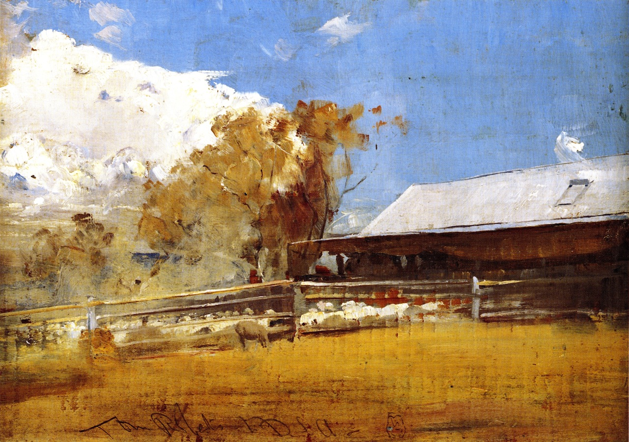 Shearing Shed, Newstead, 1894