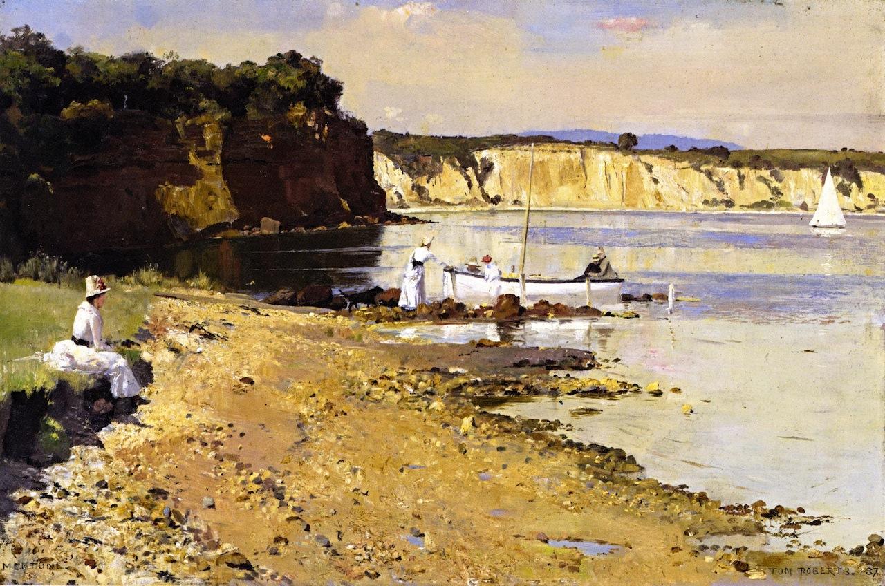 Slumbering Sea, Mentone, 1887