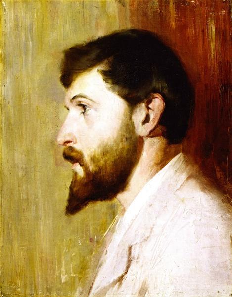 Smike Streeton age 24, 1891 - Tom Roberts