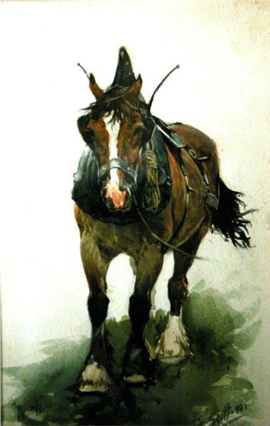 Horse, 1890 - Том Скотт