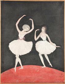 Dancers - Цуґухару Фудзіта