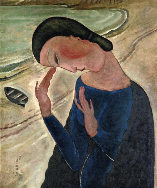 La Vie, 1917 - Tsuguharu Foujita