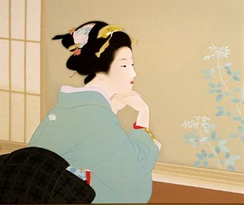 Young Leaves, 1940 - Uemura Shōen