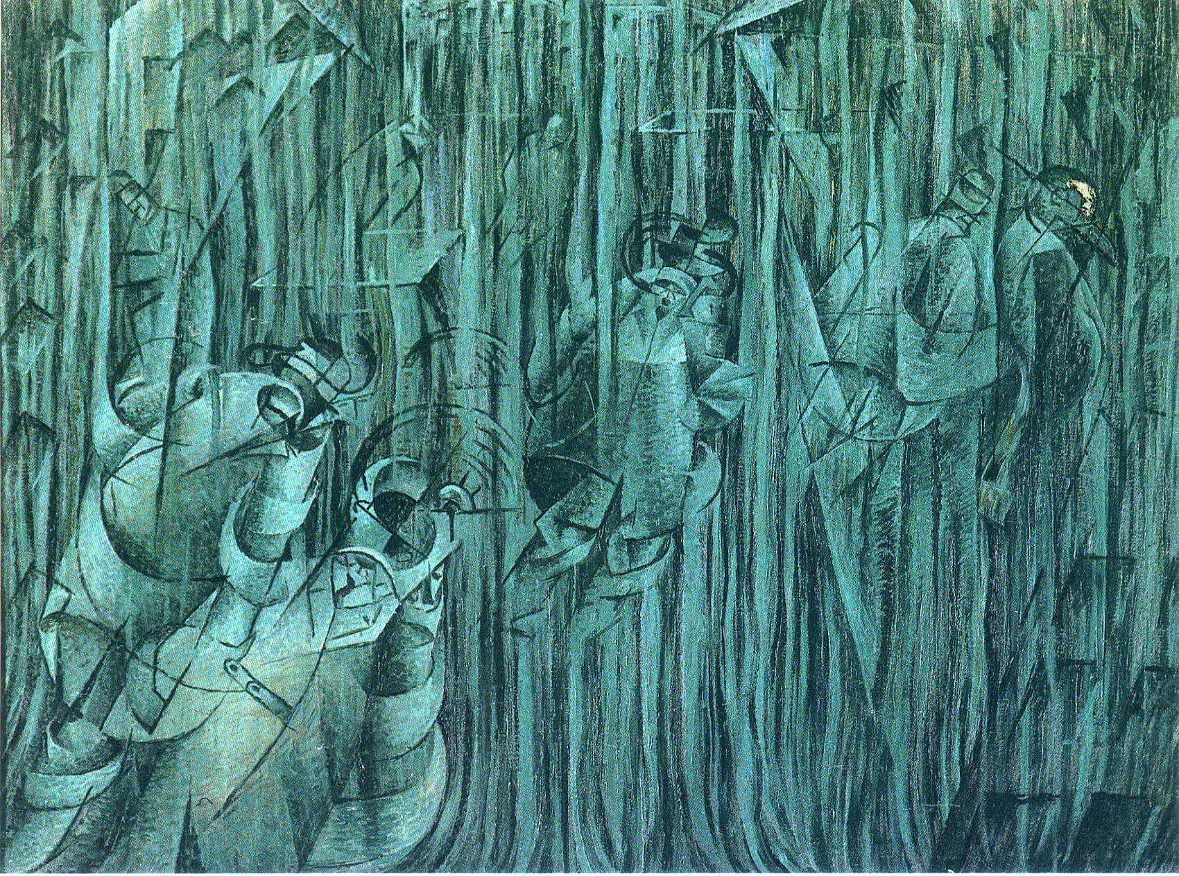 Boccioni Futurism States of Mind III: Th...