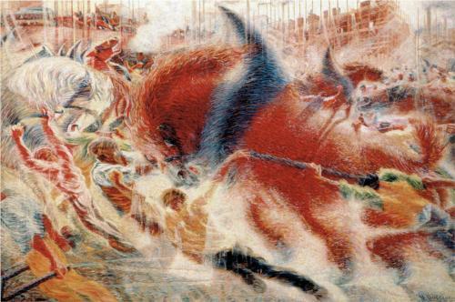The City Rises - Umberto Boccioni