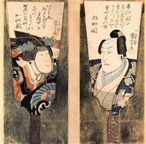 L'attore - Utagawa Kuniyoshi