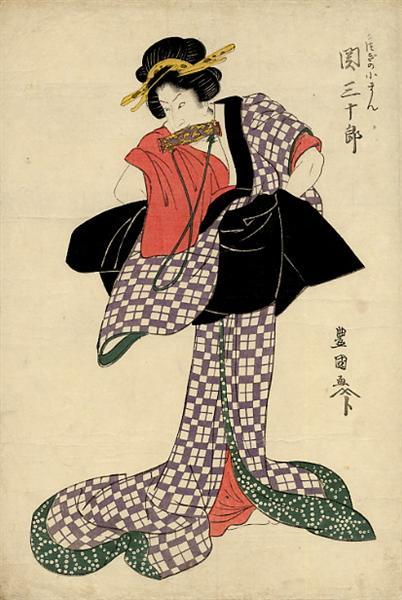 Seki Sanjuro, c.1810 - Utagawa Toyokuni