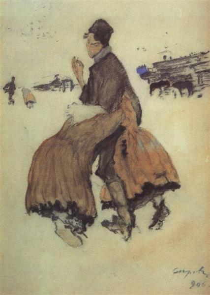 A Recruit, 1906 - Valentin Serov