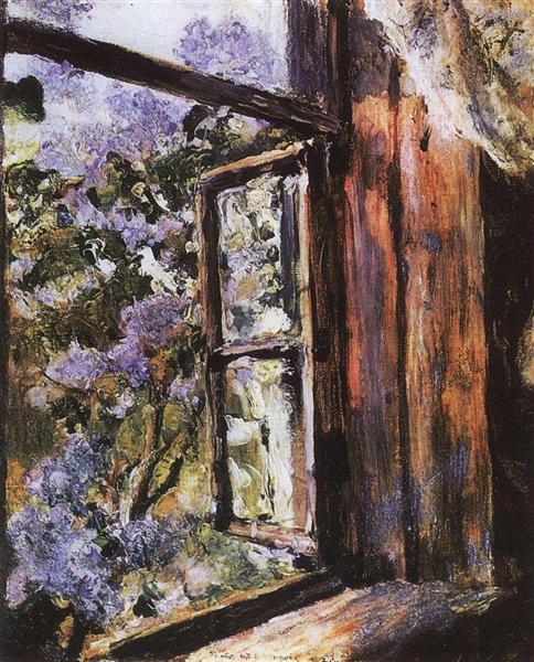 Open Window. Lilacs, 1886 - Valentin Serov