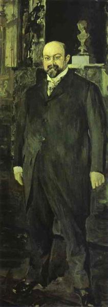 Portrait of Mikhail Morozov, 1902 - Valentín Serov