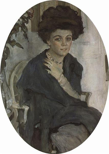 Portrait of P. Oliv, 1909 - Valentin Serov