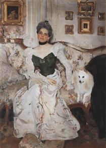 Portrait of Princess Zinaida Yusupova - Valentin Serov
