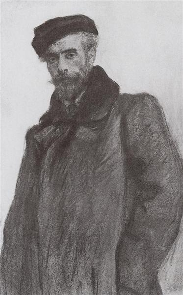 Portrait of the Artist Isaac Levitan, 1900 - Valentin Serov