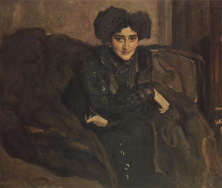 Portrait of Yevdokia Loseva, 1903 - Valentin Serov