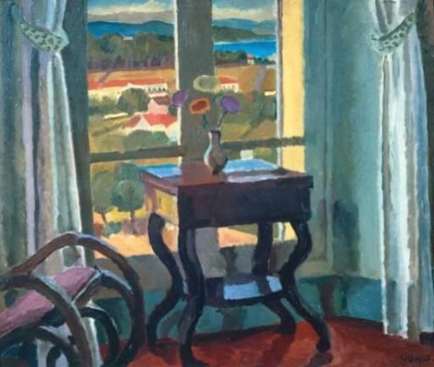 Interior with a Table, 1921 - Vanessa Bell