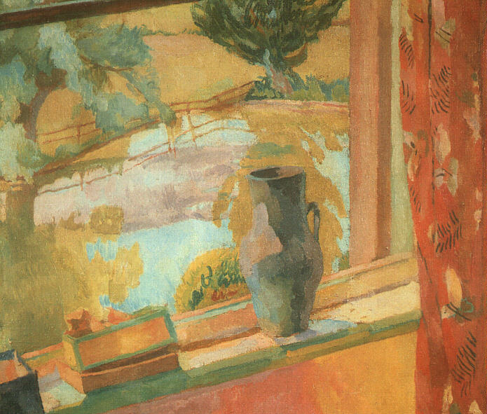 View of the Pond at Charleston, 1919 - Vanessa Bell