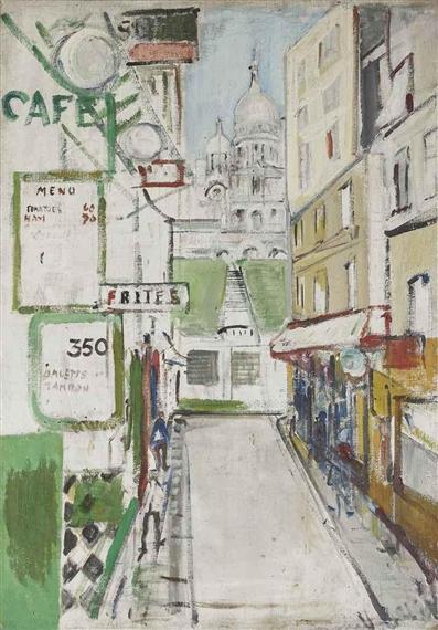 Rue de Steinkerque in Paris - Varlin