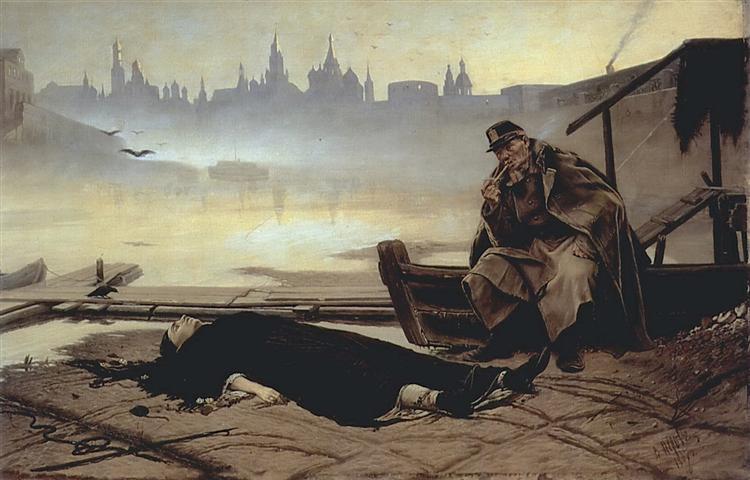 Утопленница, 1867 - Василий Перов