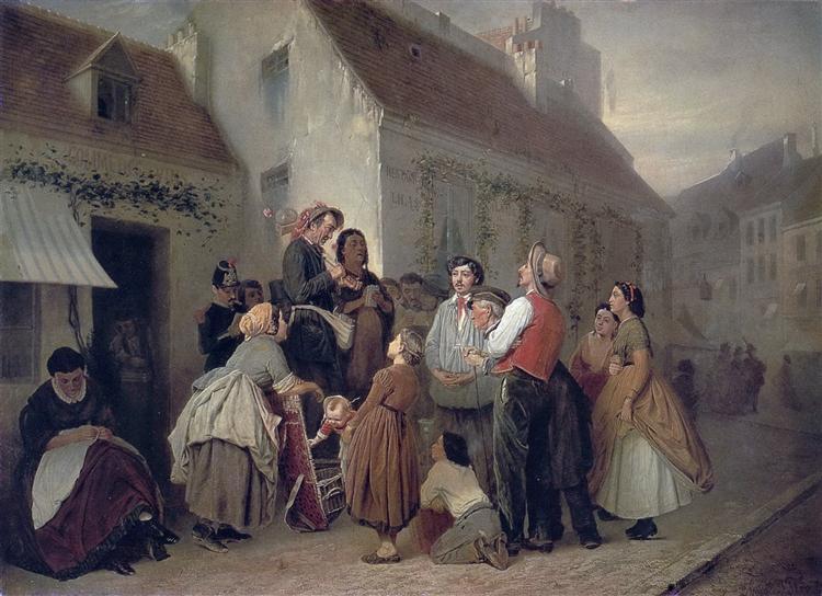 Vendor of Song Books, 1863 - 1864 - Vasily Perov