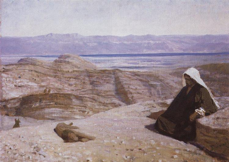 Has been in desert, 1909 - Vasily Polenov