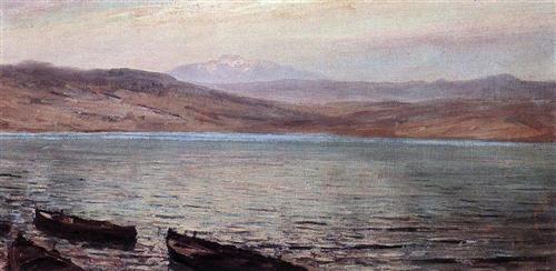 Tiberias (Gennesaret) lake - Vasily Polenov