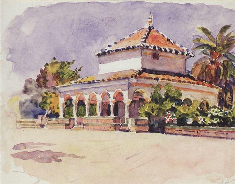 Alcázar of Seville, 1910 - Vasily Surikov