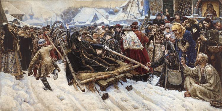 Boyarynya Morozova - Vasily Surikov