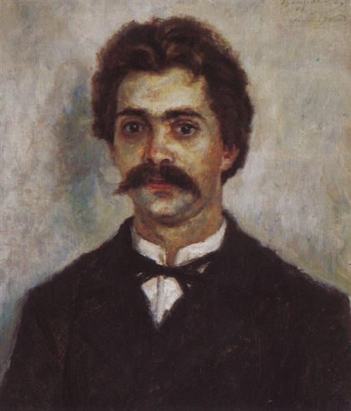 Portrait of A. I. Surikov, c.1889 - Vasily Surikov