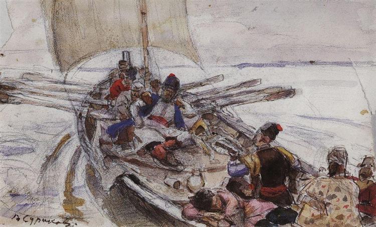 Stepan Razin, c.1903 - Vasily Surikov