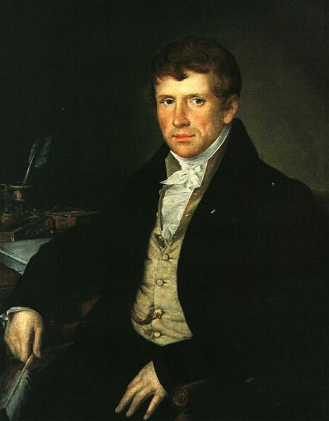 Diomede V. Kiselev, 1834 - Vasily Tropinin